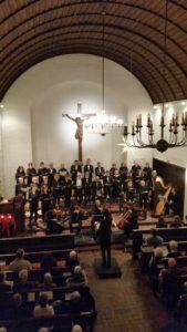 Weihnachts-Konzert der Kantorei Broder-Hinrick.