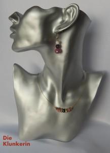 M_ES_K_Go-MA 45,5cm leichter Golddraht mit Perlen